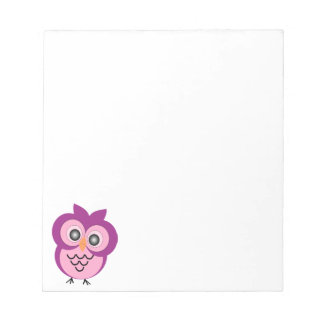 Owl Small Notepad