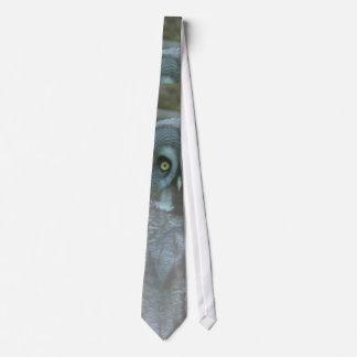 Owl Spirit Neck Tie