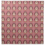 Owl Squares Napkins