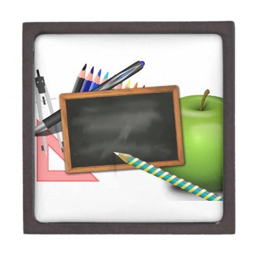 Owl Squirrel  Smart School Teacher Destiny Class Premium Gift Box