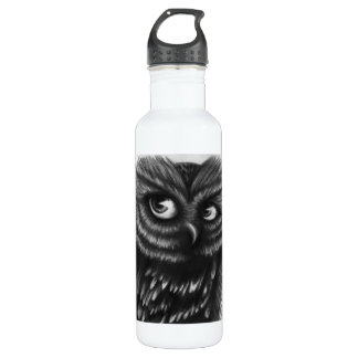 Owl Stainless Steel Water Bottle