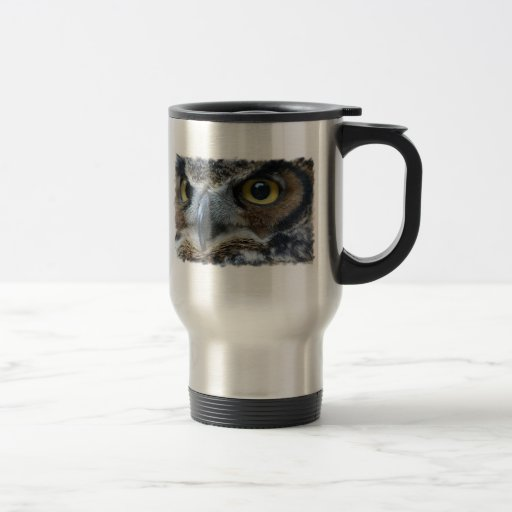 Owl Stainless Travel Mug