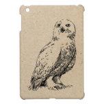owl stamp iPad mini case