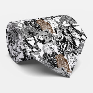 Owl Stand-out Tie