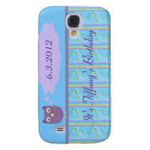 Owl Star Birthday Celebration Samsung Galaxy S4 Case