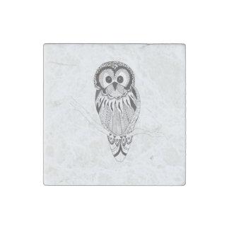 Owl Stone Magnet