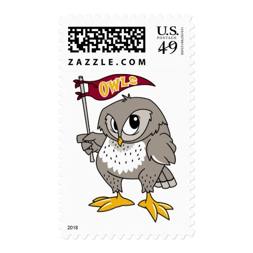 Owl Supporter Stamp