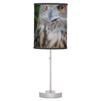 owl surprised right bird table lamp