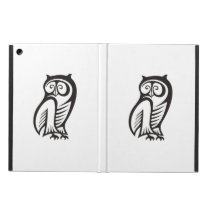 Owl Symbol Black Cover For iPad Air