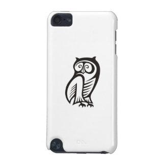 Owl Symbol Black iPod Touch (5th Generation) Case
