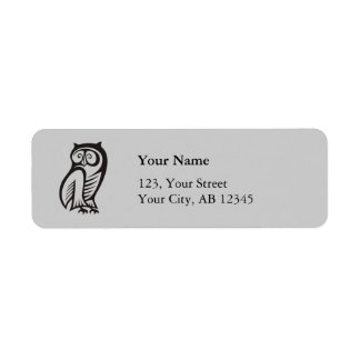 Owl Symbol Black Label