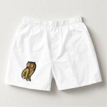 Owl Symbol Color Boxers