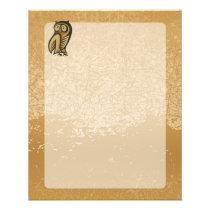 Owl Symbol Color Flyer