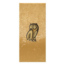 Owl Symbol Color Rack Card