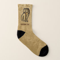 Owl Symbol Color Socks