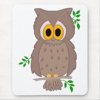 Owl-t Mouse Pad