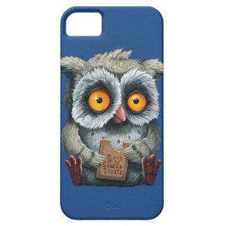Owl Te Quiero Mucho Phone Case