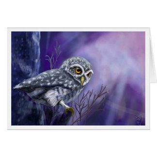 Owl that Calls Beyond the Night Card