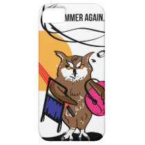Owl that hates summer T shirt iPhone SE/5/5s Case