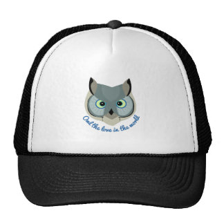 Owl the Love Hat
