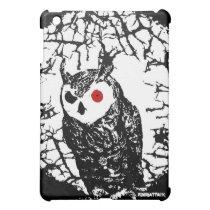 Owl Thorns iPad Mini Covers