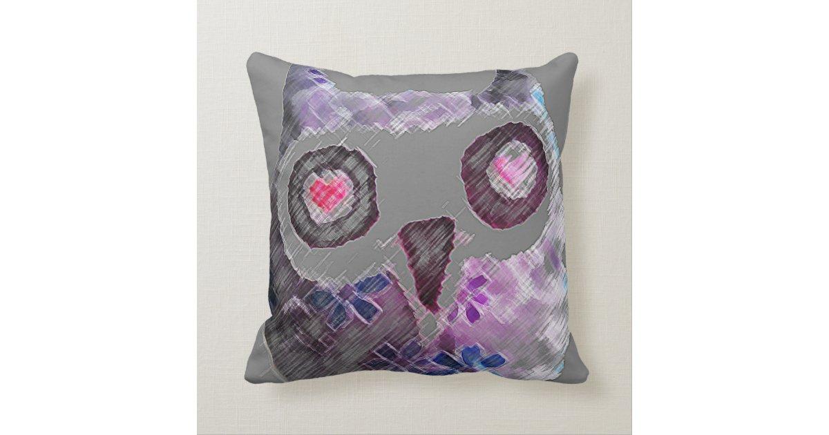Throw Pillows With Owls : owl throw pillow Zazzle