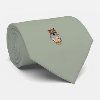 Owl Tie Gray