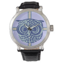 owl time piece watch