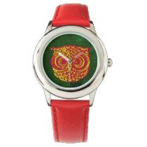 owl time wrist watch
