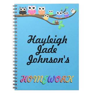 """""""OWL Together Now"""" Notebook"""