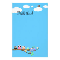 """""""OWL Together Now"""" Stationery"""