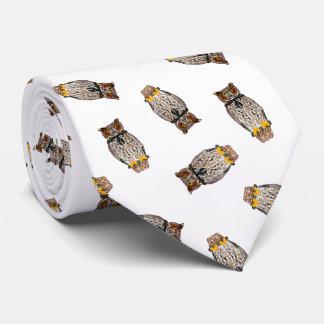 Owl Toss Tie