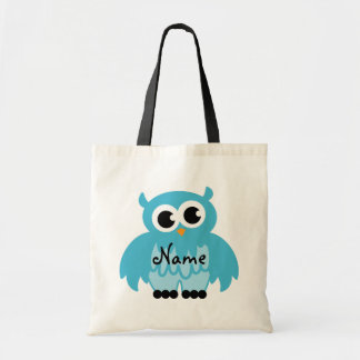 Owl tote bag | Personalizable with name