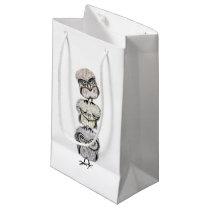 owl totem small gift bag
