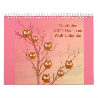 Owl Tree 2014 Calendar