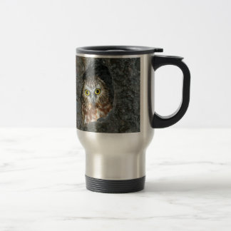 owl tree baby inside travel mug