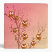 Owl Tree Back to School Binder