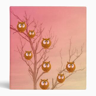 Owl Tree Binder