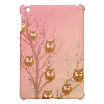 Owl Tree  Case For The iPad Mini