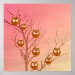 Owl Tree Framed Print
