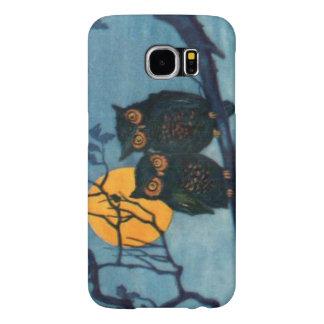 Owl Tree Night Full Moon Halloween Samsung Galaxy S6 Case