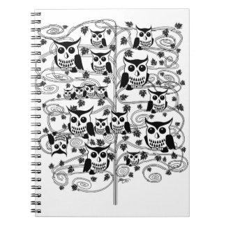 Owl Tree Notebook