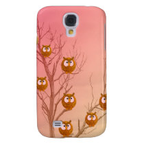 Owl Tree  Samsung Galaxy S4 Cover
