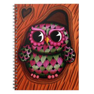 Owl Tree Spiral Photo Notebook