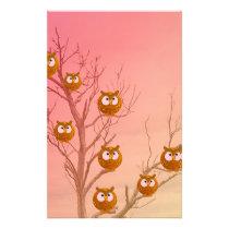 Owl Tree Stationery