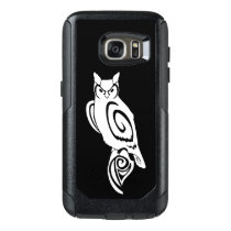 Owl Tribal Wise Great Horned OtterBox Samsung Galaxy S7 Case