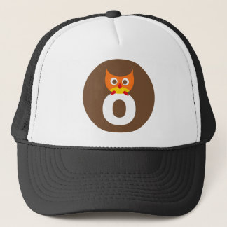 owl trucker hat