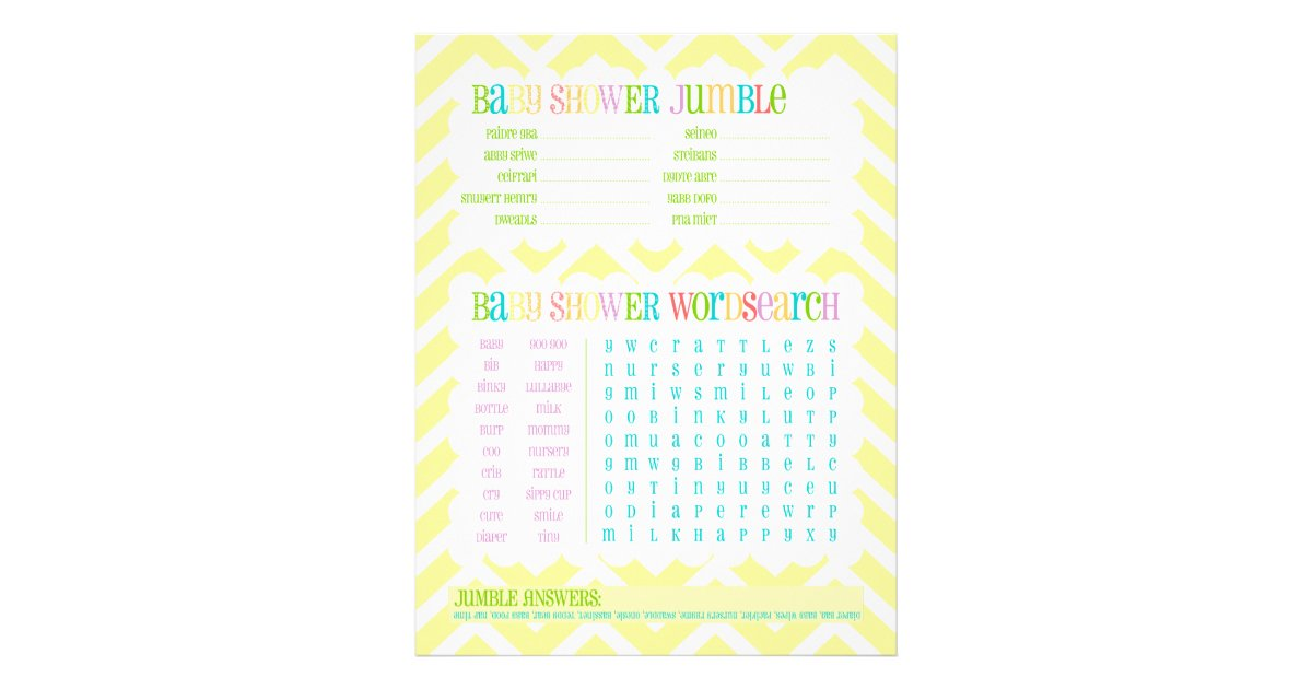 owl twins baby shower games activity sheet zazzle