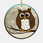 Owl (two sided) ornament