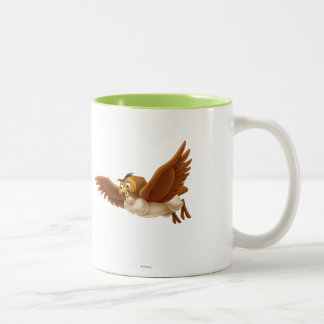Owl Two-Tone Coffee Mug